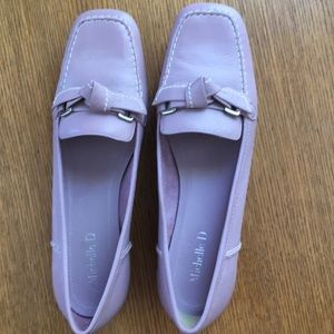 Like new Michelle D leather shoes 8.5M